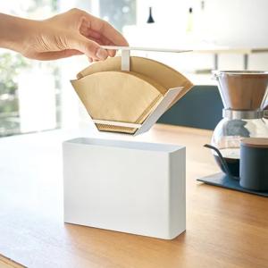 コーヒーフィルターホルダーは「衛生的でさっと取り出せて、おしゃれなもの」がいい!賢く収納できるケース3選