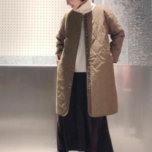防寒対策もばっちり!上品カジュアルな【キルティングコート】のリアル着こなし