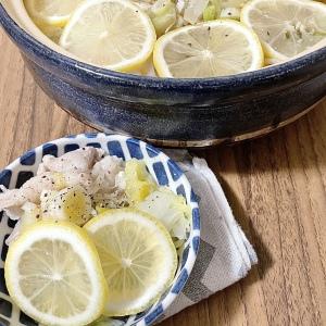 """【変わり種鍋レシピ】鍋にレモン!?簡単なのにさっぱり爽やかな""""豚バラ白菜のネギ塩レモン鍋""""がおいしすぎる"""