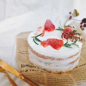 市販のスポンジケーキでプロ顔負けのクリスマスケーキが作れる!失敗しないデコレーションの仕方とは