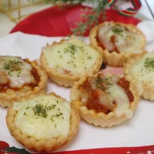 トースターで5分!クリスマスは市販カップで作るフィンガーフード「グラタンタルト」に決まり!