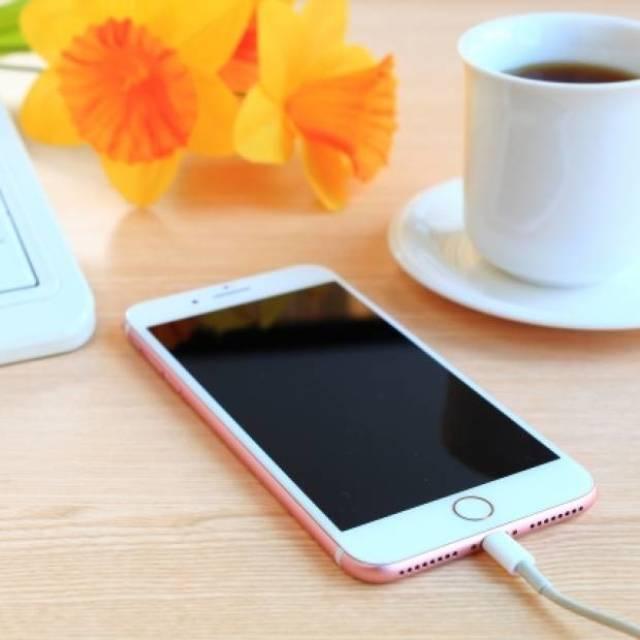 スマートフォンの充電
