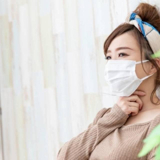 マスク乾燥
