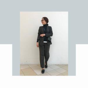 ユニクロの高見え【セットアップ】なら、セレモニー服にもオンライン会議にも!