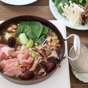 管理栄養士おすすめの免疫力を高める鍋レシピ!摂取したい栄養素やおすすめの食材も教えます!キッチン鋏やスライサーを使うから簡単!