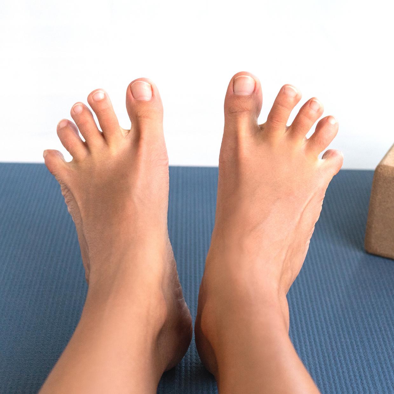 足から姿勢を整える!足指じゃんけん