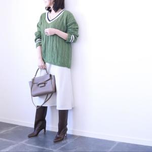 【ユニクロ】から初のサテンスカートが発売!アラフォーはどう着る?#スタイリスト高橋愛の着こなしテク|vol.29