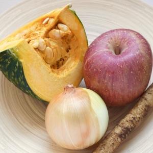【週末の作り置き】「甘味と酸味のハーモニー」カボチャとりんごの重ね煮