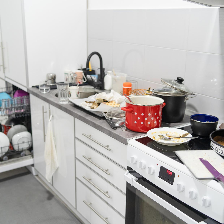 夫がご飯を作ったあとのキッチンがヒドイ!夫婦ケンカにならない伝え方