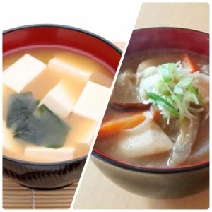【太らないのはどっち?】「豆腐の味噌汁」VS「豚汁」ダイエット中に選びたい汁物は?