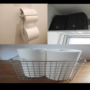 【トイレットペーパー収納術】生活感を出さずにオシャレに収納するワザ3選