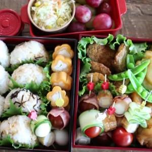 【家族が喜ぶ行楽弁当レシピ】654万回再生!簡単でかわいいとっておきのお弁当レシピを大公開