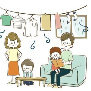 """「窓際に洗濯モノを干す」はNG!部屋干しでも洗濯モノが臭くならない""""かんたん4つのポイント"""""""