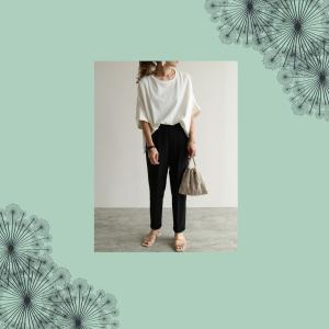 【黒パンツ】で体型カバー&美脚見せ♡最強スタイルアップコーデ5選