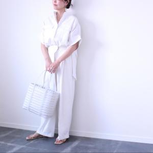 「なんだかおしゃれな人」になれる!夏のホワイトコーデ#スタイリスト高橋愛の着こなしテク|vol.52