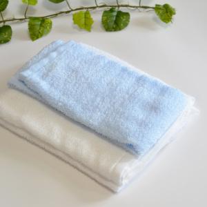 古タオルを切ると大量の糸くずが…。「糸くずが出ないタオルの切り方」