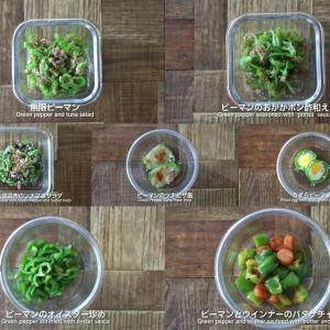 【常備菜おかず】あと1品欲しいときに5分以内にササっと作れちゃう簡単ピーマンレシピ7選