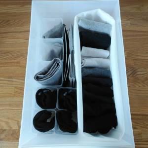 靴下の収納どうしてる?靴下が片方だけなくなる…。セリアの靴下収納アイテム4選で引き出しの中もスッキリ#整理収納アドバイザー直伝