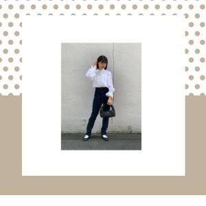 アラフォー女性におすすめのスキニーデニムで「簡単・着やせ」コーデ