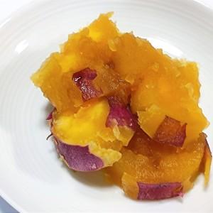 鍋もフライパンもいらない!レンジで作る簡単おやつ「さつまいもの甘醤油煮」が美味!
