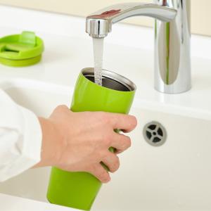 水筒の底が洗いにくい!簡単にしっかり水筒の奥まで洗える方法