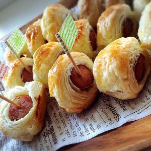 パイシートでできる激うまウインナーパイ♡子供ウケ100%のパーティーレシピを紹介!