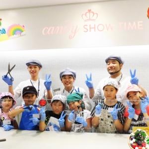 プロと一緒に可愛いキャンディー作り♡『CANDY SHOW TIME』の親子ワークイベント♪
