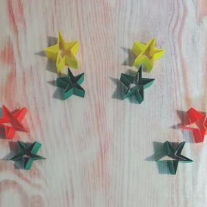 クリスマスメニューのお供に!親子で簡単に作れる【折り紙箸置き】が可愛い☆