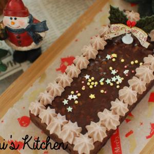 【材料費500円】業務スーパーで人気のケーキをアレンジして、ゴージャス『クリスマスケーキ』