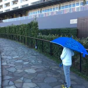 【学童グッズ】引きずっても壊れにくいと噂の長傘を実際に引きずってみた結果