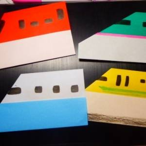 折り紙で『ドクターイエロー』3歳でも簡単に作れる! 折り紙で作る新幹線が大人も子ども盛り上がった件
