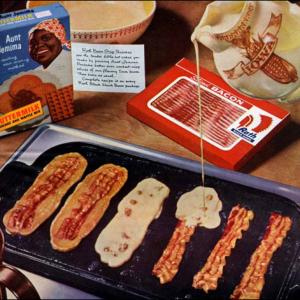 アメリカの定番朝食「ベーコン・ストリップ・パンケーキ」って知ってる?