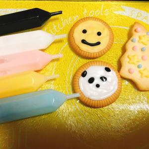 KALDIのアイシングペンなら不器用ママでも可愛いクッキーが作れる♡