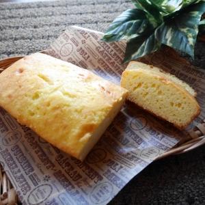 【バター不使用】オリーブオイルで作るパウンドケーキが美味しい♪