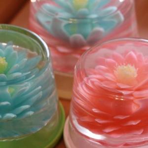 注射器で花を咲かせる「フラワーゼリー」が美しすぎる…! おうちでも簡単に作れる♡
