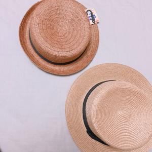 【売り切れ必至】春夏トレンドのカンカン帽がダイソーなら100円で買える♡