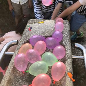 3COINSのウォーターバルーンがすごい!一気に35個もできて子供も大盛り上がり♡