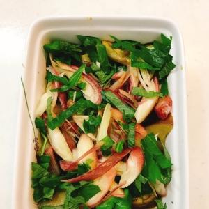 【簡単常備菜】香味野菜って余りがち...美味しいさっぱり煮びたしに♡