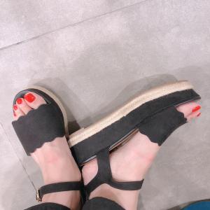 【GU新作】ジュートサンダルが完売間近!安定の歩きやすさ♡