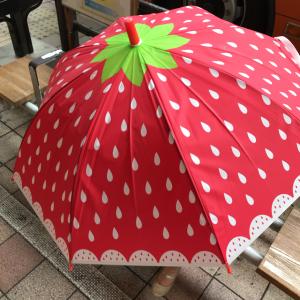 3COINSのフルーツキッズ傘が今年も登場♡雨の日が楽しくなりそう♪