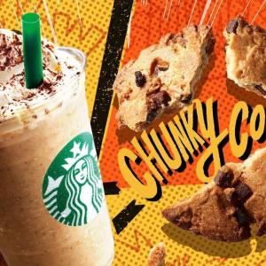 【スタバ新作】チャンキークッキーフラペチーノが3年ぶりに待望の復活!やっぱり美味しすぎる❤️