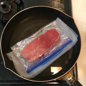 「得する人損する人」のステーキを柔らかくする裏ワザをやってみた