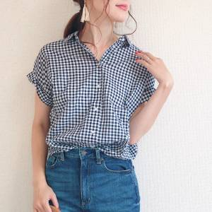 【ユニクロ】ソフトコットンシャツの肌触りに感動♡夏もさらさら快適