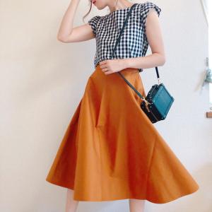 【ユニクロ】ふんわり感アップ!サーキュラースカートの新作は秋まで使える♡