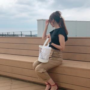 【GU】トレンドのチノグルカパンツがプチプラ♡スッキリシルエットで着痩せ効果アリ
