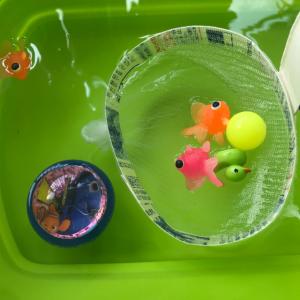 金魚すくいをお家で!牛乳パックを使った手作りおもちゃの工作アイデア