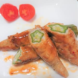【簡単レシピ】お弁当のおかずにもぴったり! オクラの豚薄切り肉巻き